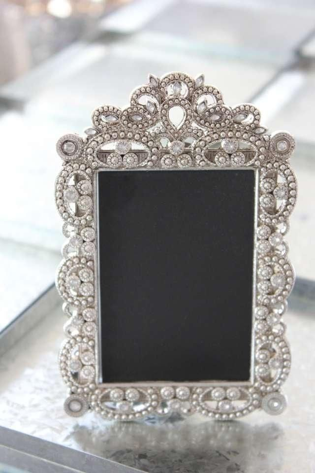 10-small-vintage-style-jeweled-rhinestone-frames-gatsby-bling-silver ...