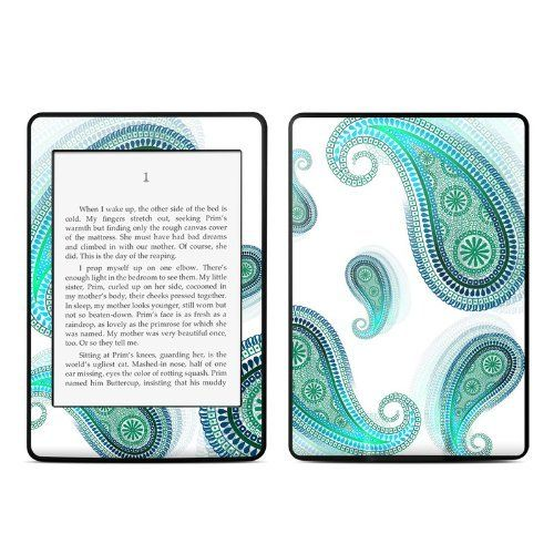 Azure design protective decal skin sticker for amazon kindle paperwhite ebook reader 2 point