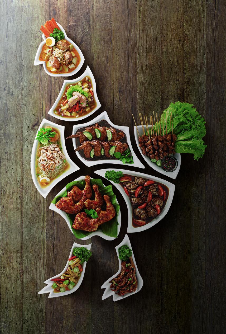 Resep Masakan Dan Makanan Nusantara Khas Indonesia Creative Advertising Makanan Desain Makanan