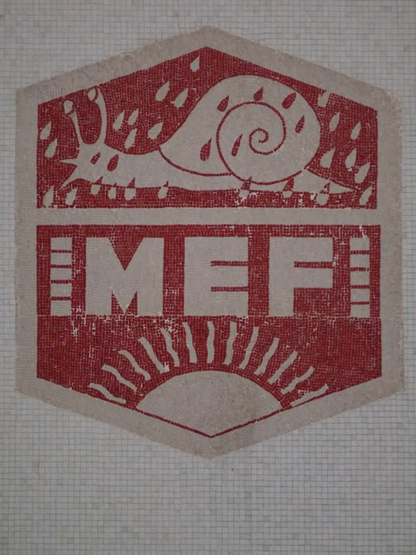 #MEF logo spotted nr. #SagradaFamilia #Barcelona  via @isetta_windsor