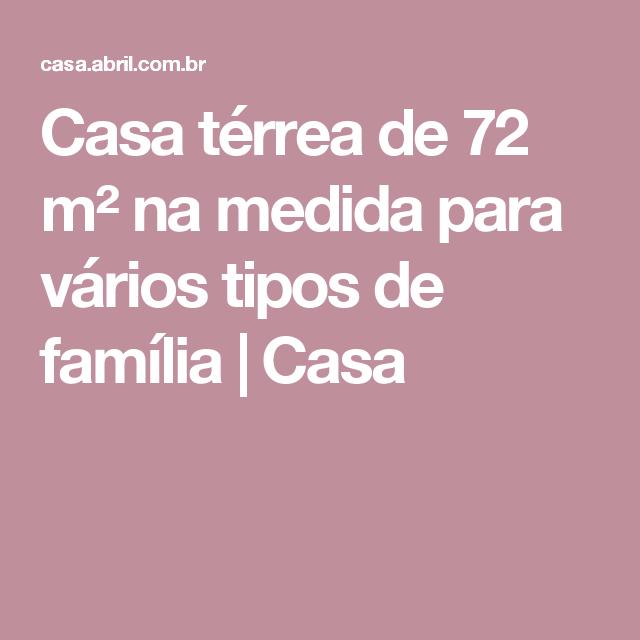 Casa térrea de 72 m² na medida para vários tipos de família | Casa