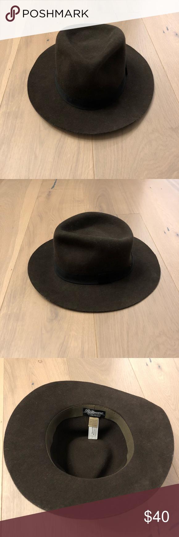 Madewell-Biltmore fedora hat size s-m 100% wool Madewell Accessories Hats c4d4edd3fc5d
