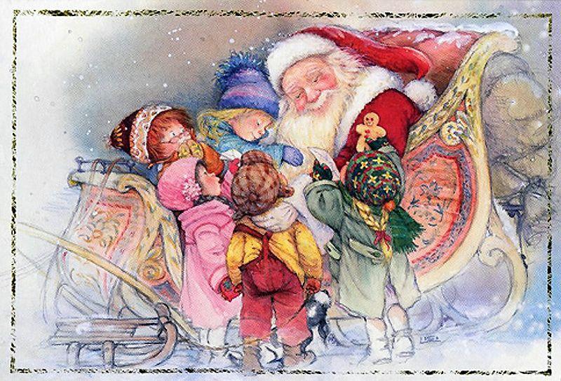 Почтовых открытках, открытки с новым годом с германии