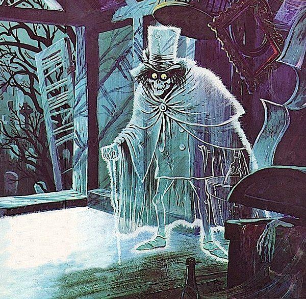Hatbox ghost by Marc Davis