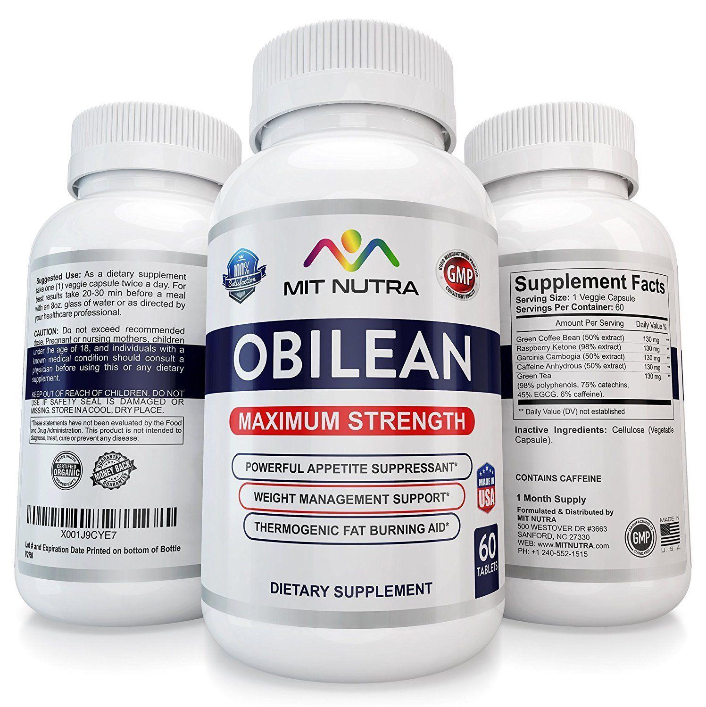 3 Obilean Quickest Strongest Best Fastest Diet Pills 37 5 375 For