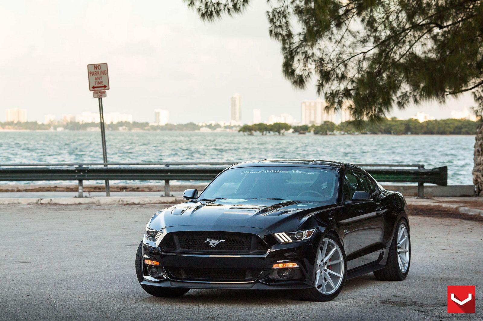 Ford mustang gt 5 0 s550 vfs1 vossen wheels 2014