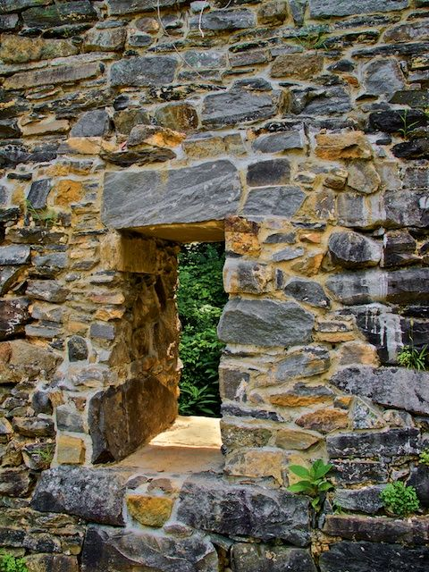 Old Stone Masonry Foundation And Walls Antique Cotton Mill Stone Chapel Building A Stone Wall Stone Masonry