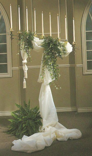 Beautiful tulle decoration ideas churches alters and decor beautiful tulle decoration ideas junglespirit Image collections