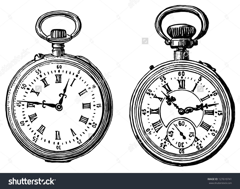 pocket watch gears drawing google zoeken arthow to draw