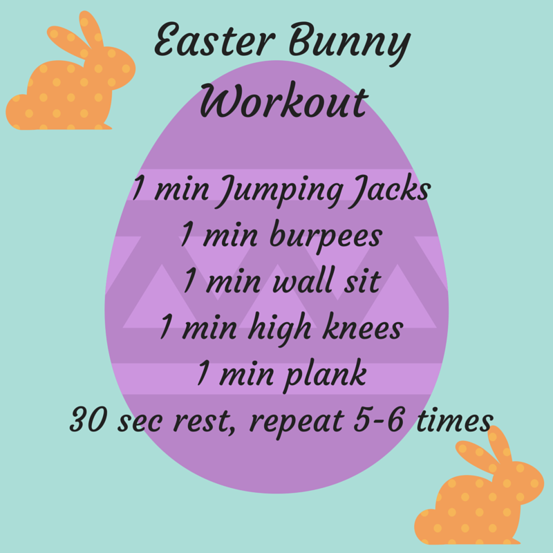 Easter Bunny Workout Wild Workout Wednesday Workout Wednesday