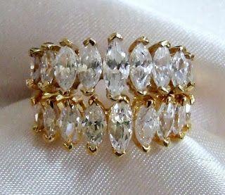 Invoguejewelry Baking Cubic Zirconia Silver Toe Rings Custom Jewelry Fashion Jewelry