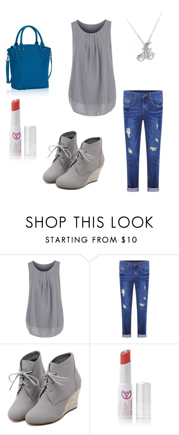 """""""Cobalt Paris"""" by stephanyylw on Polyvore featuring WithChic and Mary Kay"""