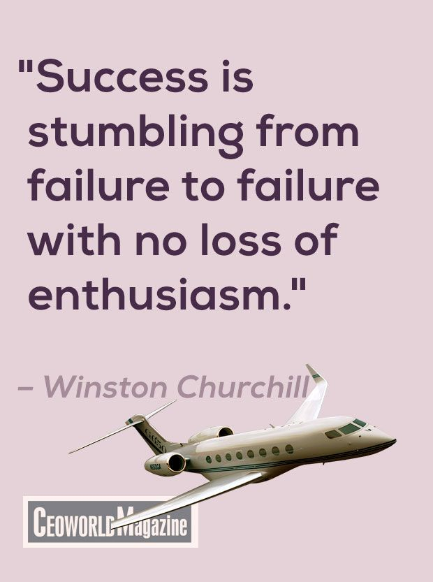 """Success is stumbling from failure to failure with no loss of enthusiasm.""  – Winston Churchill #quotes"