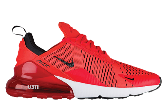 "online store 4369e ae0fa Preview  Nike Air Max 270 ""Red"" - EU Kicks Sneaker Magazine"