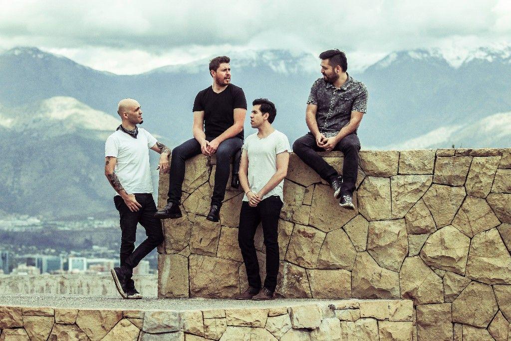 """Aiken, la banda nacional que debutó en la Cumbre del Rock Chileno presentó """"EP México"""", su último trabajo que llegará a Concepción y Chillán."""