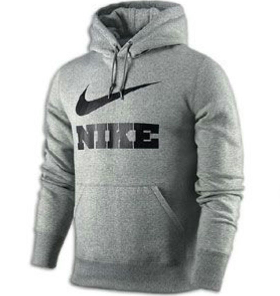Nike Classic Fleece Swoosh PO Hoodie Mens Casual Clothing I like this  especaily the single pocket