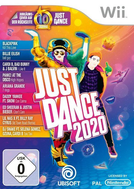 Just Dance 2020 Nintendo Wii Just Dance Nintendo Und Feiern
