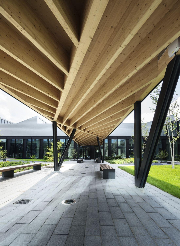 Die m glichkeiten einer halle fabrik von barkow for Fabrik landscape architects