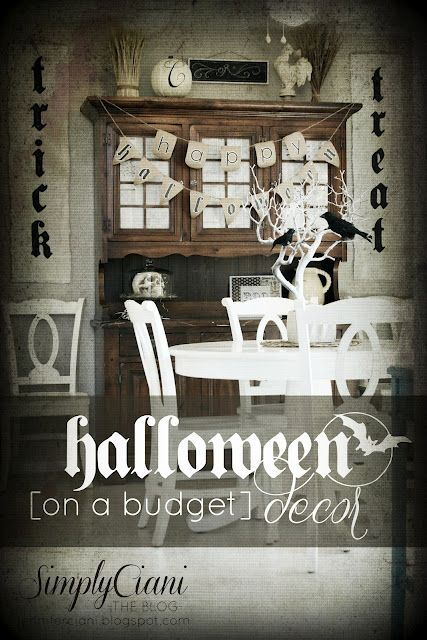 Halloween Display Halloween Pinterest Halloween displays - cheap halloween decor ideas