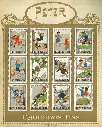 Chocolats PCKN / Album Timbres / Peter Serie VIII by micky the pixel, via Flickr