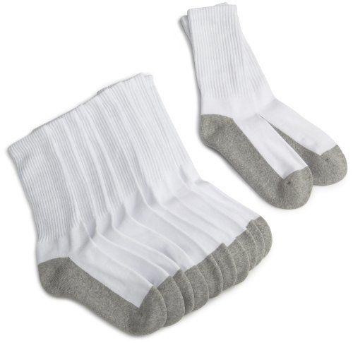 Pack Of 6 Jefferies Sport Half Cushion Seamless Crew Socks