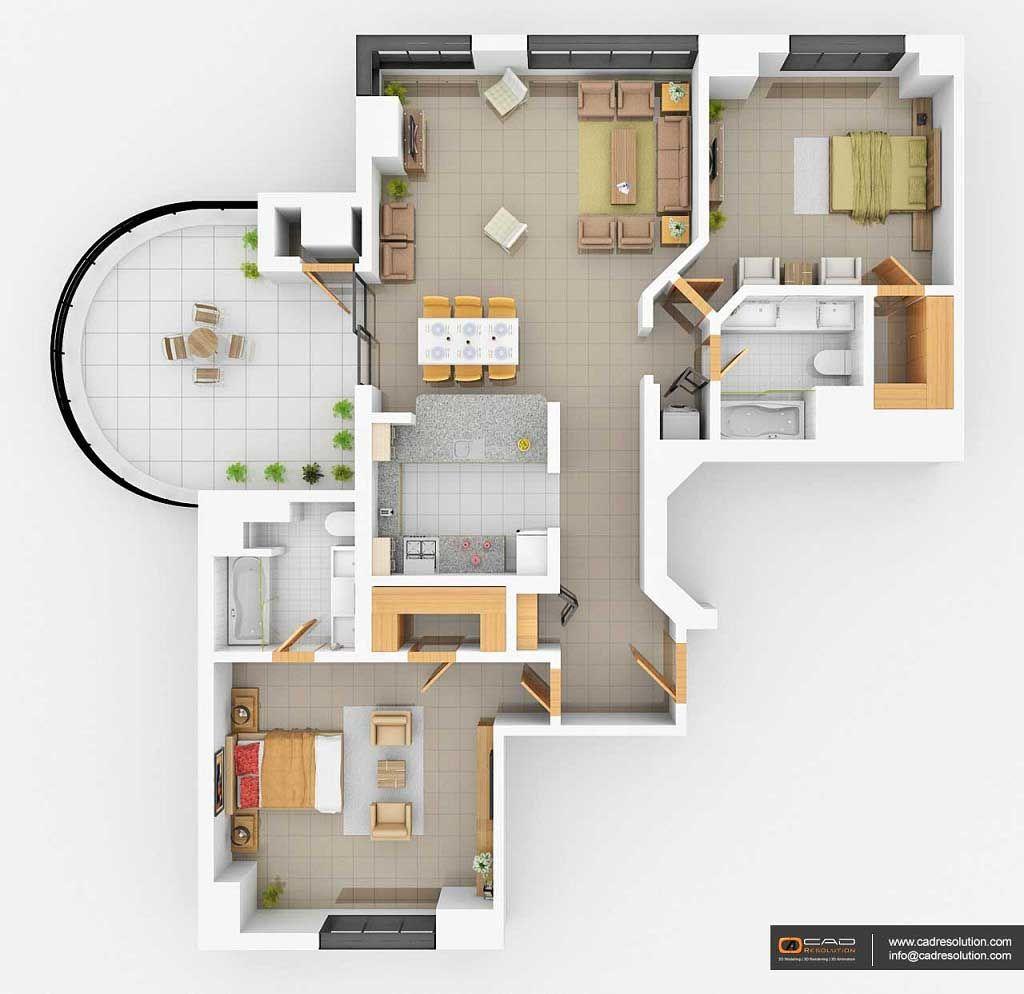 Contemporary Australian House Floor Plans 3d Models House Floor Plans Floor Plans House Design