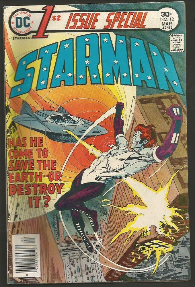 1st Issue Special 12 STARMAN 1976 DC COMICS Origin 1st
