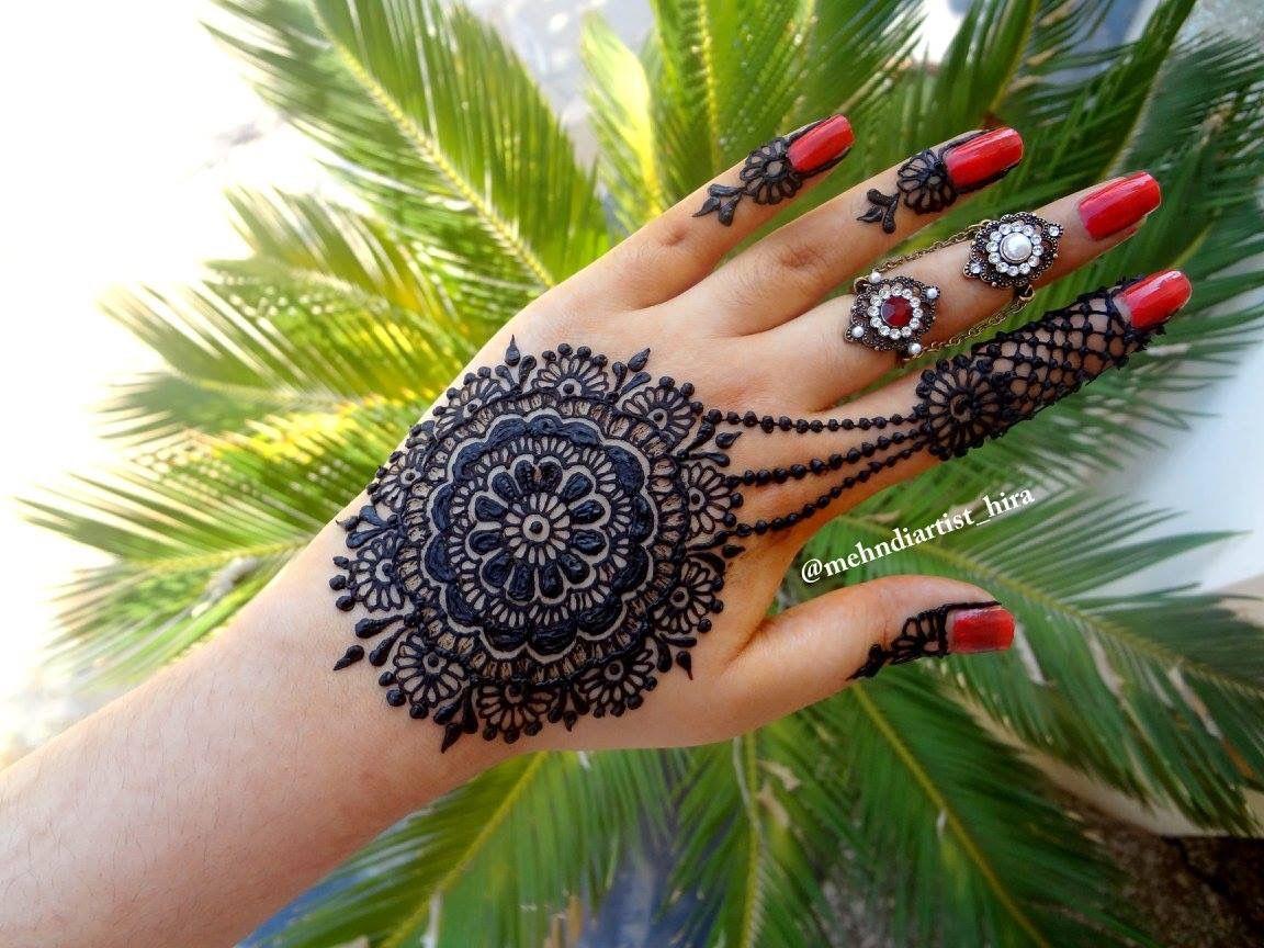 Henna Mehndi Nail Art : Pin by mehndiartist hira on henna mehndi