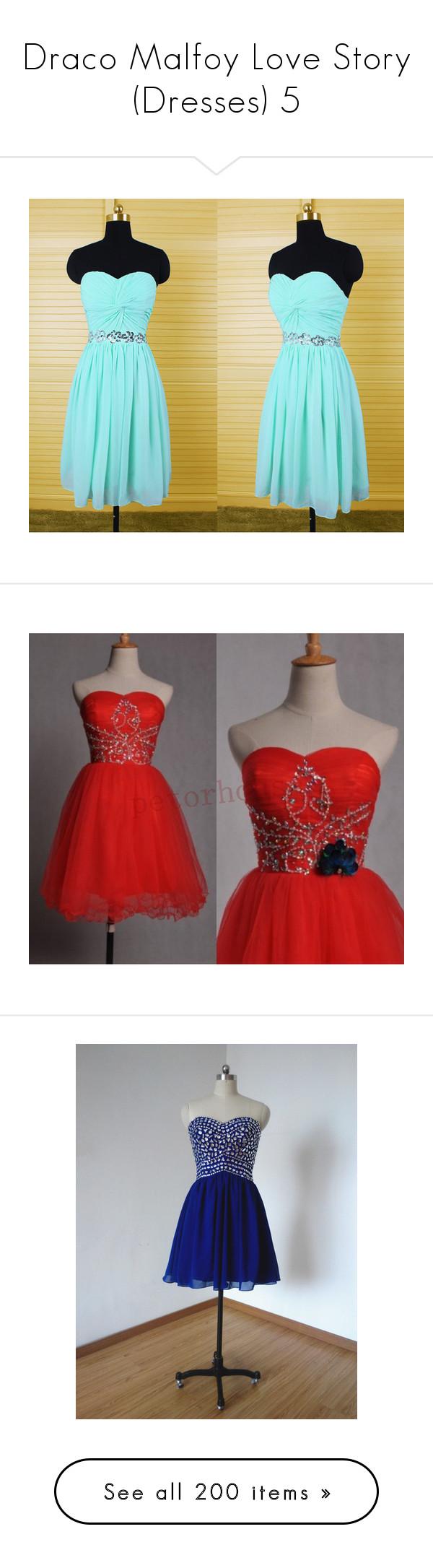 Draco malfoy love story dresses