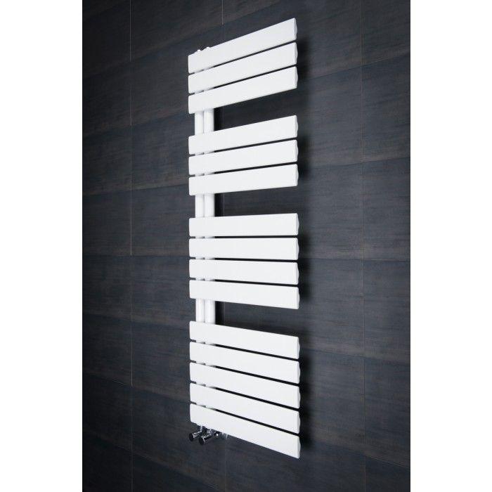 Kristiansund Towel Radiator 1380 X 500 White Badezimmer Designer Bad