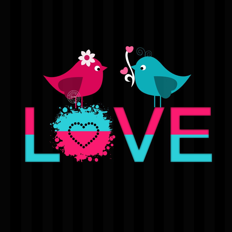 love bird mobile wallpaper and whatsapp dp love romance whatsapp