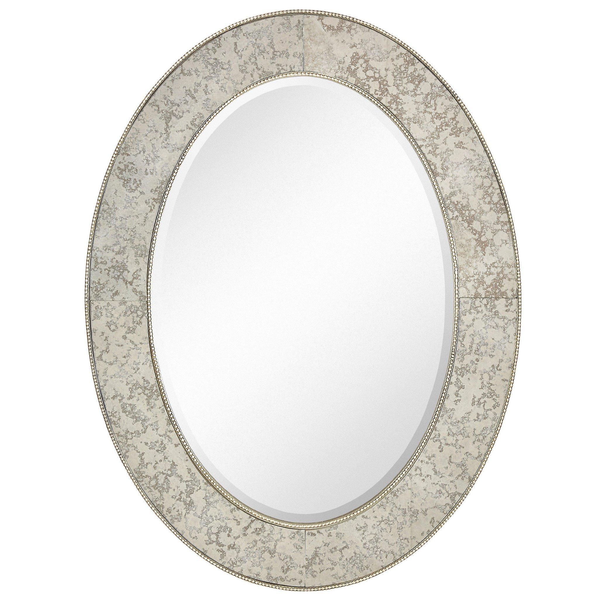"Angela Oval Mirror 30""x40"""