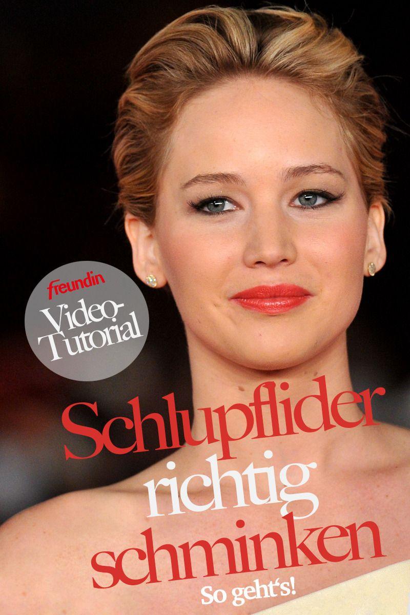 Photo of Video instructions: Make up drooping eyelids properly freundin.de