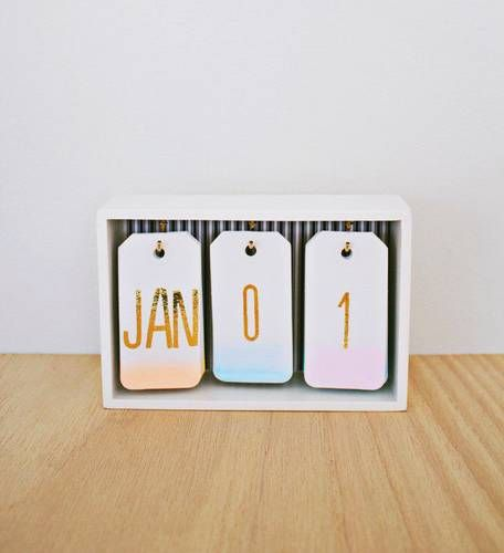 Domino 31 Diy Desk Accessories For Work Work Work Work Work Diy Desk Calendar Diy Ombre Diy For Girls