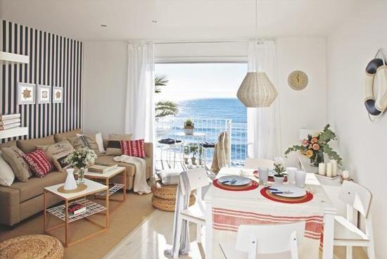 Un apartamento con vistas al mar de vacaciones apartamentos y playa - Decoracion apartamentos playa ...