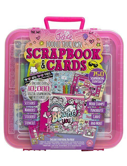 Just For Girls Toys : Mega scrapbook cards set girls toys crafts