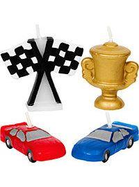 Race Car Candles