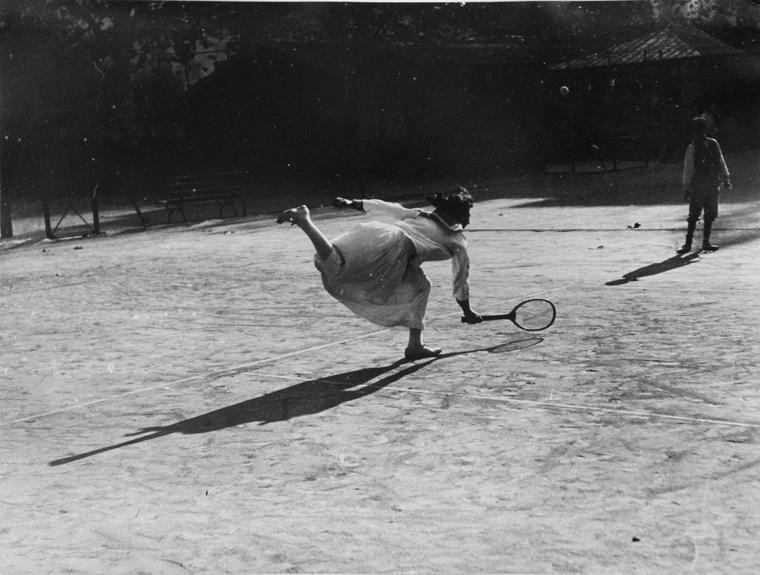 Jacques-Henri Lartigue, 'Suzanne Lenglen, Nice, France', 1915