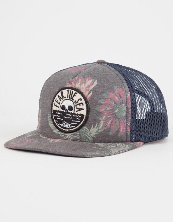 3871049ea7f ROARK REVIVAL Fear The Sea Mens Trucker Hat