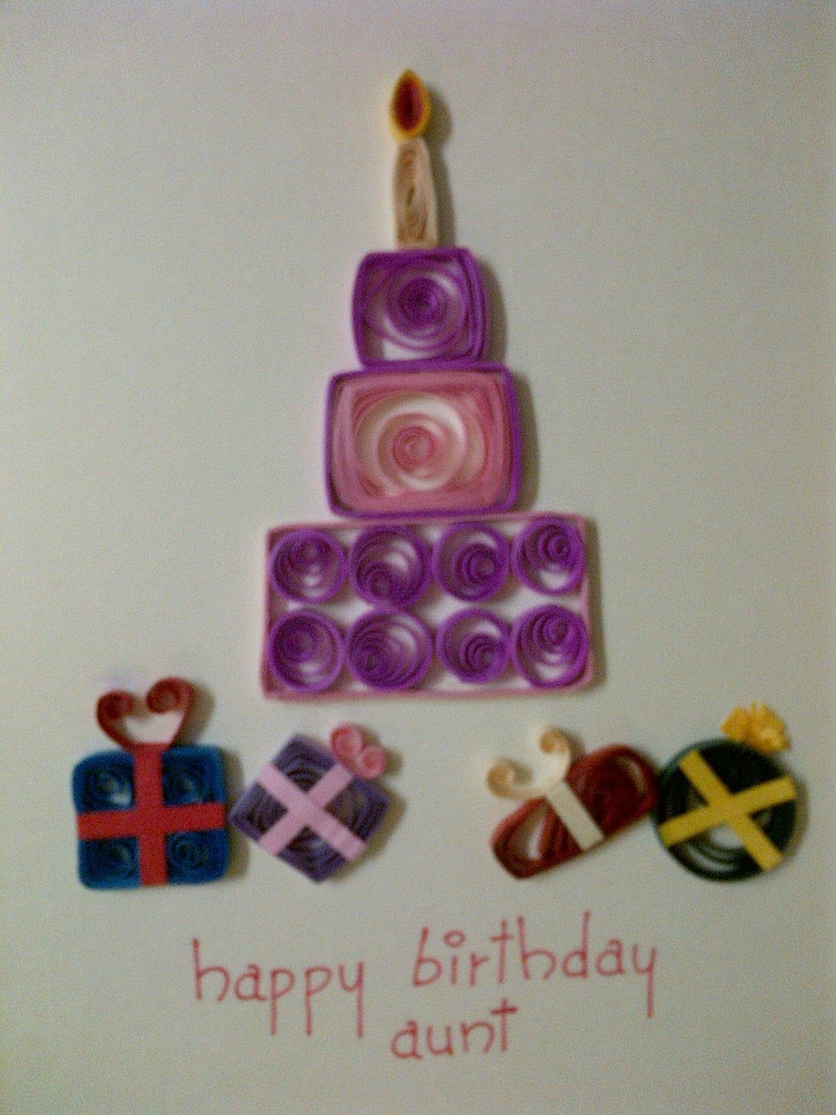 Art & Football Quilled birthday and anniversary cards