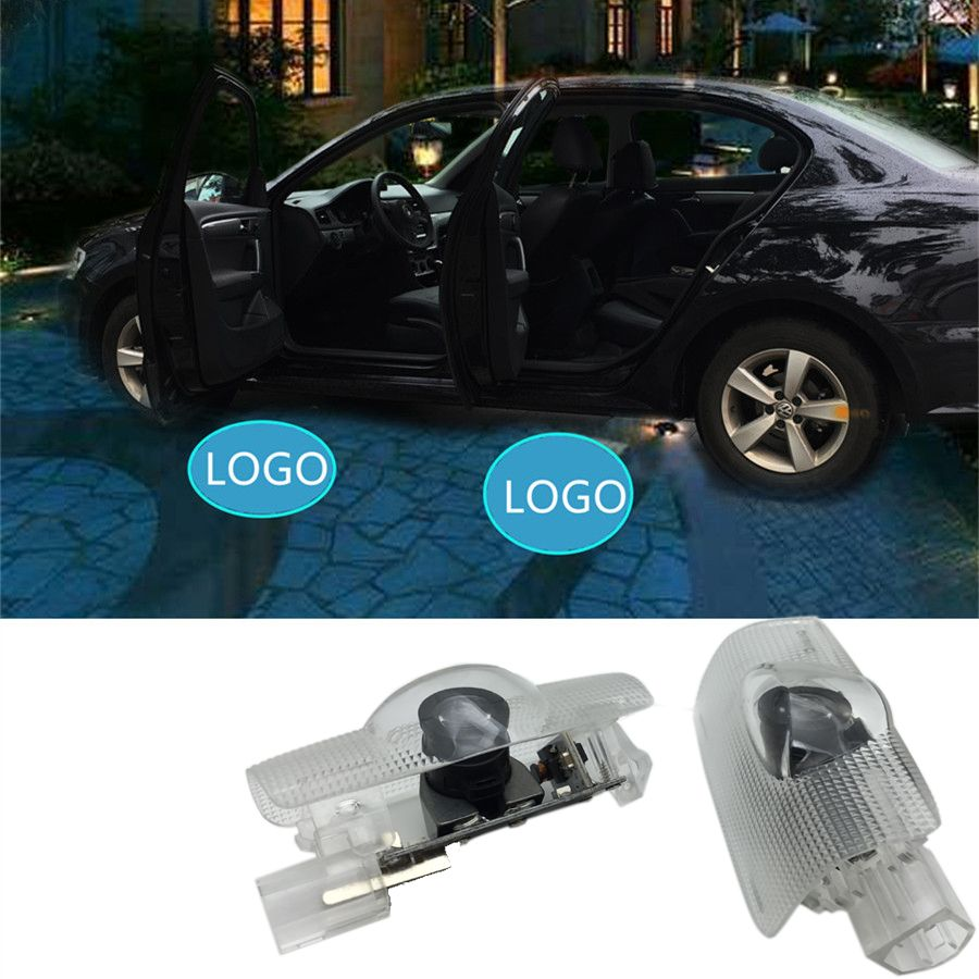 Led Car Door Welcome Laser Projector Logo Ghost Shadow Light For