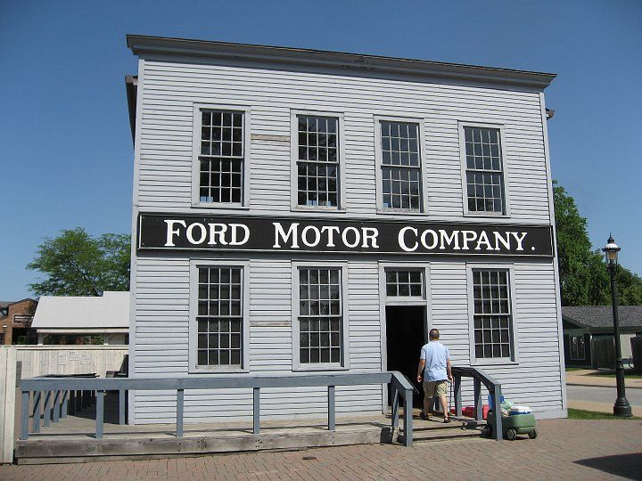 Ford Motor Company Mack Avenue Plant At Greenfield Village In