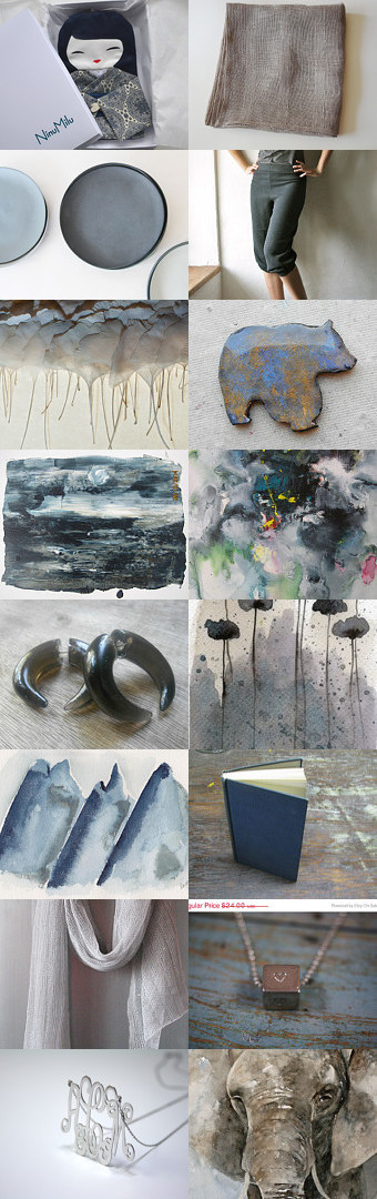 Gray Skies by Bevin Justice- Holcroft on Etsy--Pinned with TreasuryPin.com