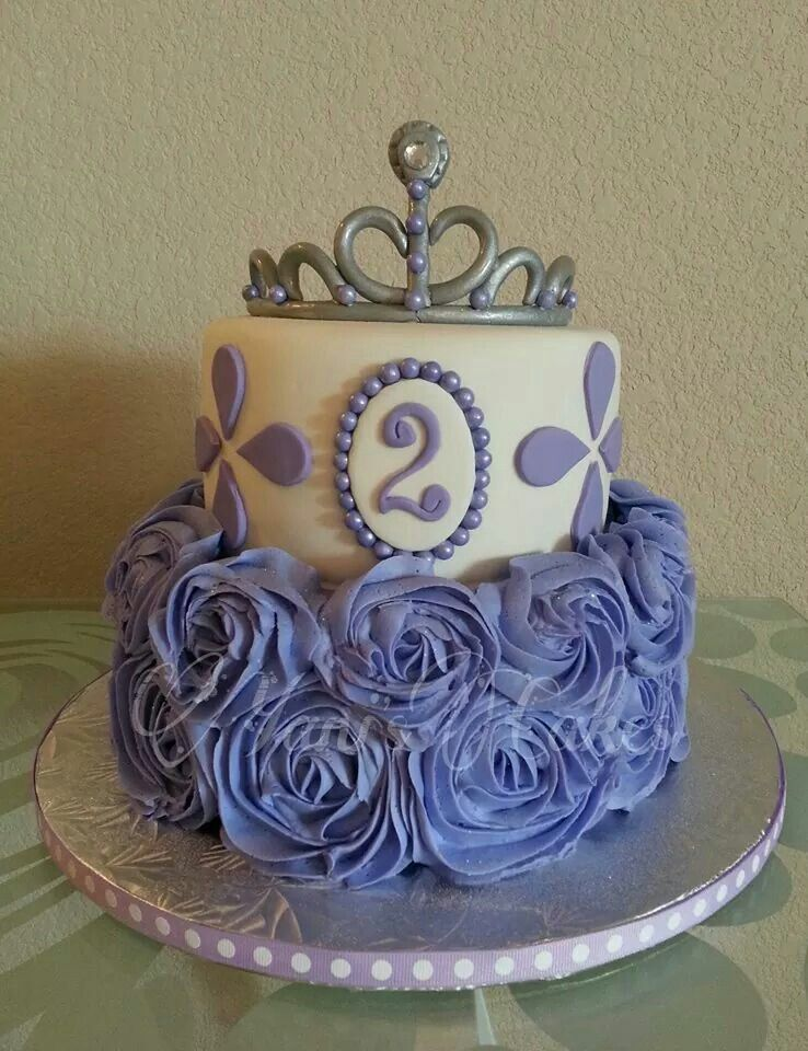 Purple Princess And Roses Yani Cakes Killeen Tx Party Party