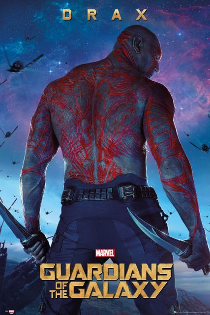Guardians Of The Galaxy Drax Plakaty Filmowe Plakat