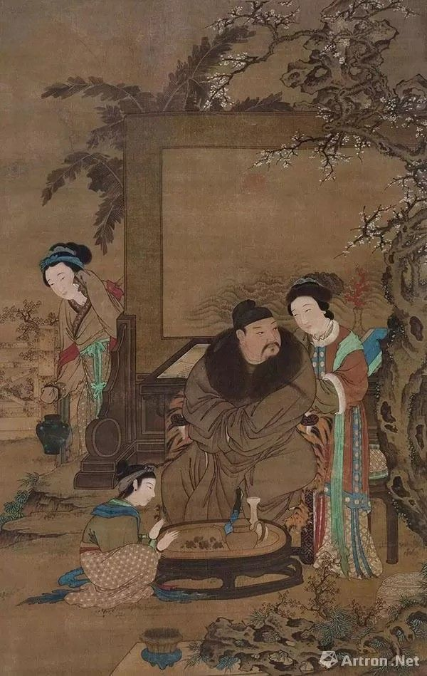 ming noble man ancient chinese art chinese artwork ancient paintings