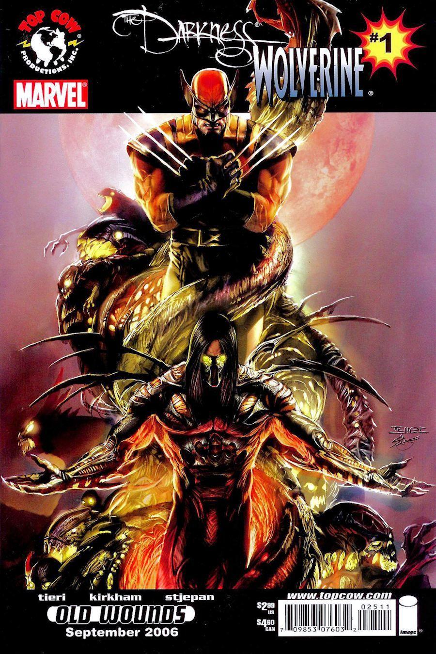 Darkness / Wolverine #1