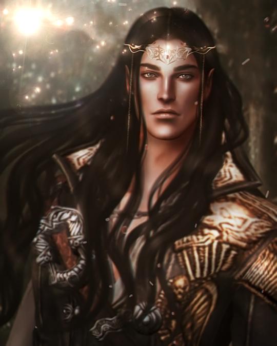 Dark Fantasy Art Male
