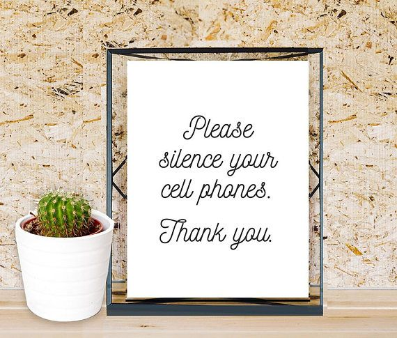 photo regarding No Cellphone Sign Printable named Silence Mobile Telephones Indicator, Printable Medical doctors Office environment Indication