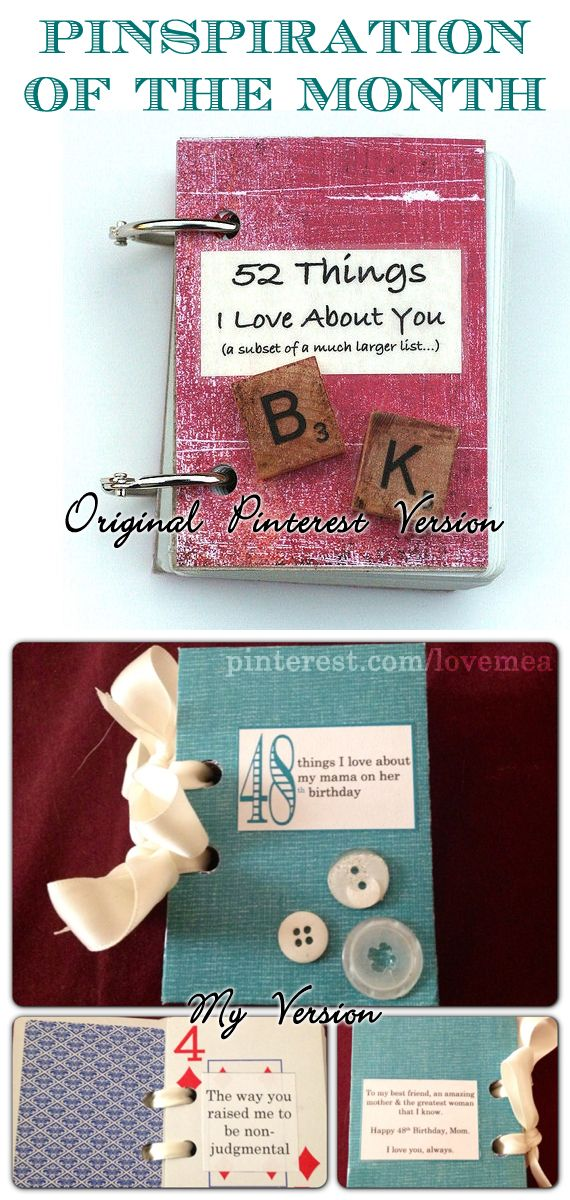 Deck Of Cards Binder Rings Or Ribbon Cute Book Of Love For